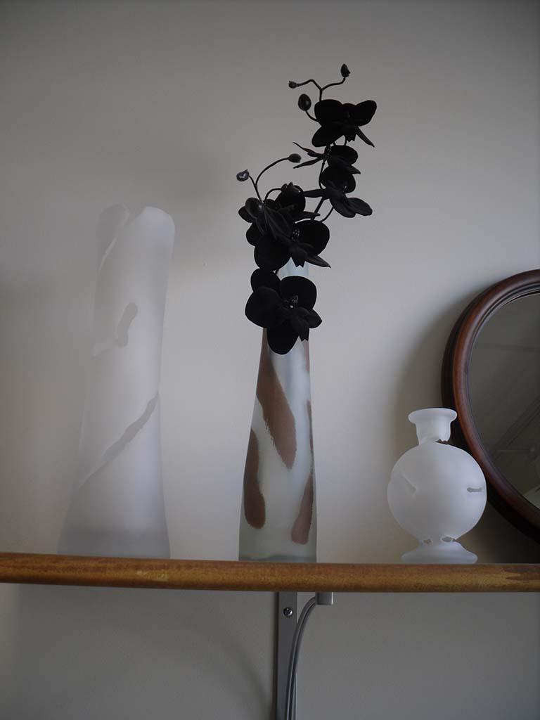 Vase sablé