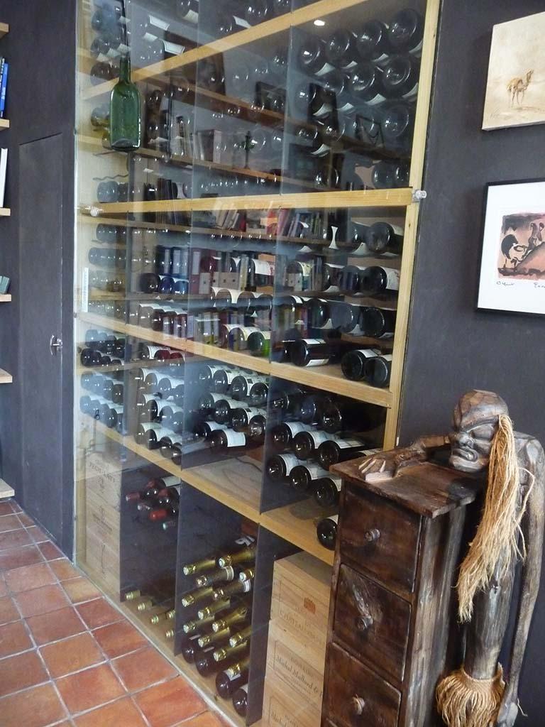 Fabrication sur-mesure : verre pour cave à vins de 3050x2200mm