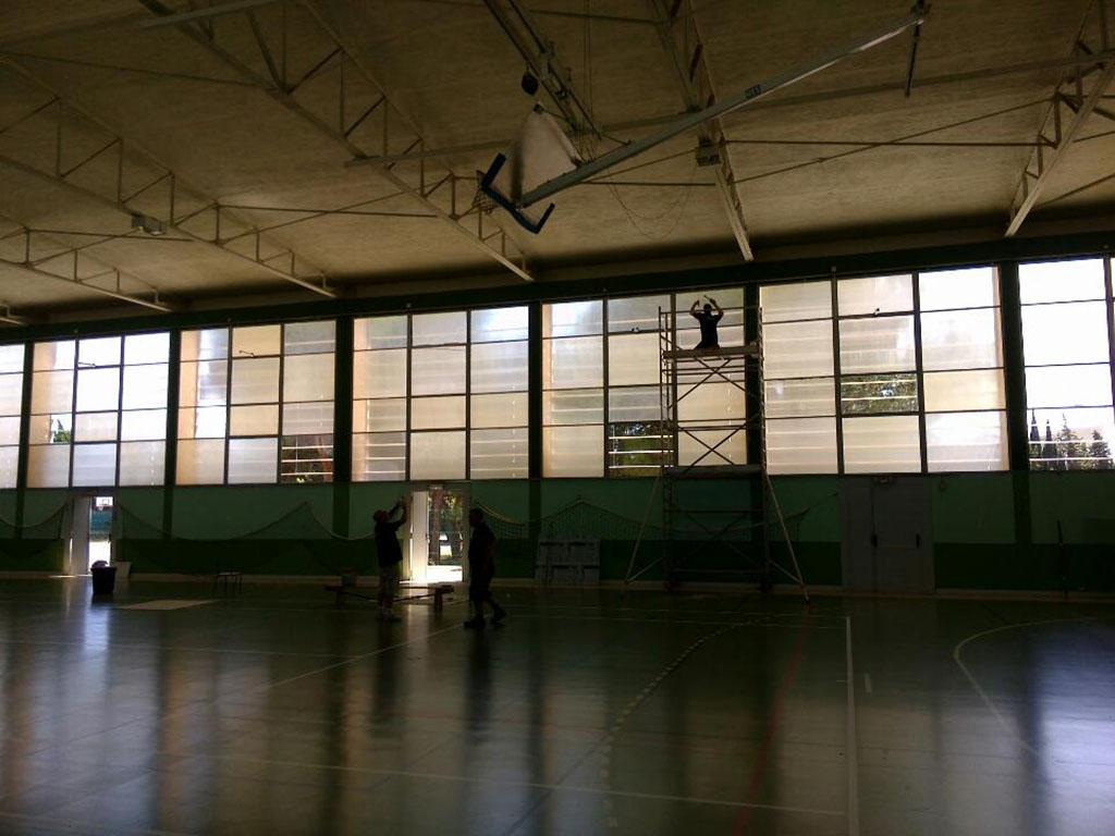 Remplacement de vitre : vitrage en hauteur