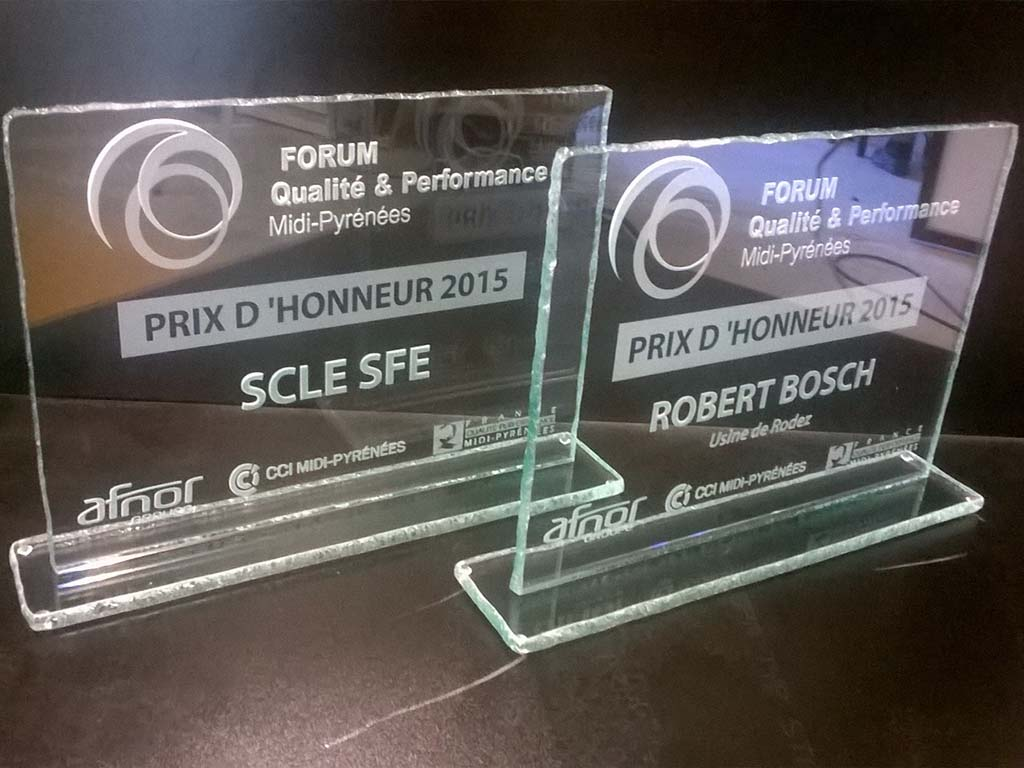 Trophée nominatif
